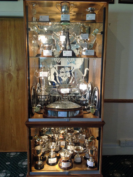 ... Only For Security Reasons, But It Gives An Opportunity For Any Member  To Come And Have A Look At All The NUGC Trophies Together In All Their  Splendour.